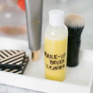 Homemade Natural Makeup Cleaner