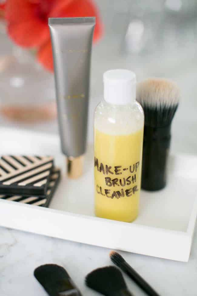 How To Clean Makeup Brushes + DIY Makeup Brush Cleaner