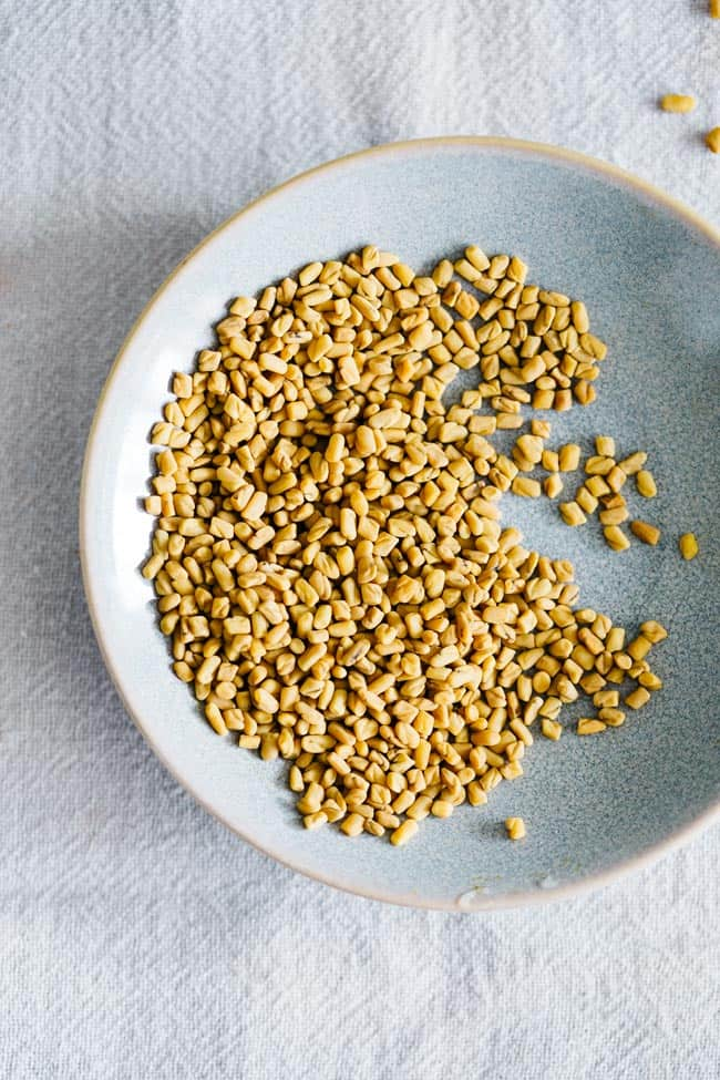 Fenugreek Seeds Mask | 9 Homemade Hair Masks for Thinning Hair