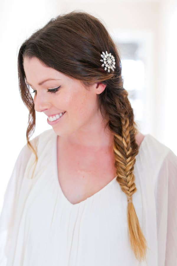 Easy boho stacked-braid tutorial by The Glitter Guide