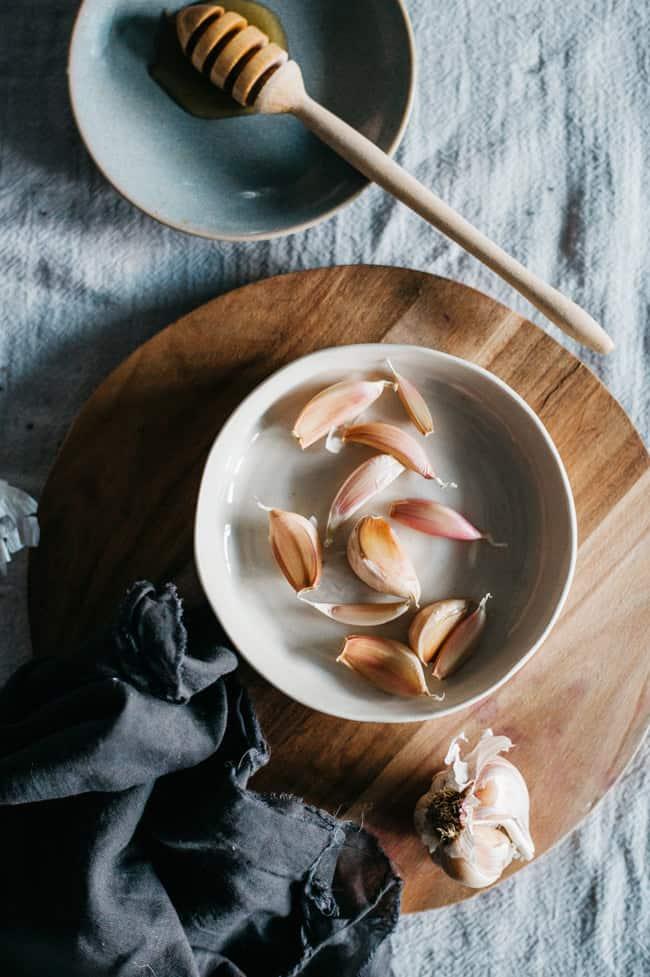 Garlic | 8 Natural Cough + Sore Throat Remedies