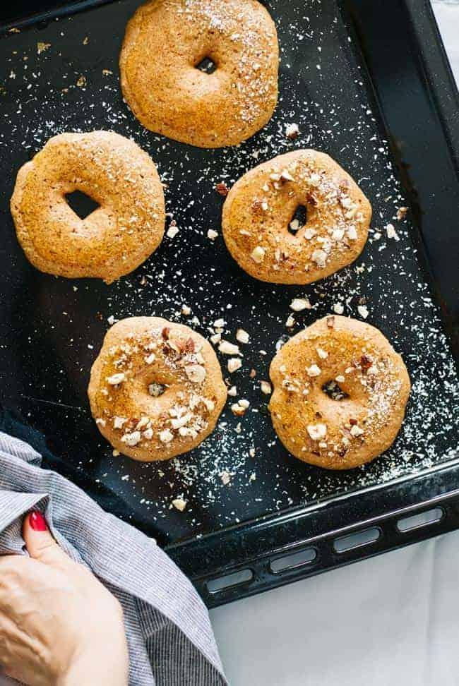 Vegan Pumpkin Baked Donuts