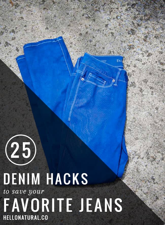 25 Ways to DIY Jeans