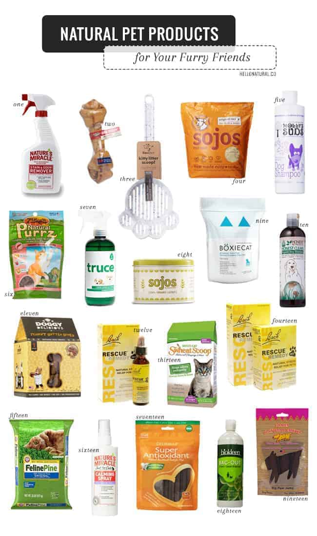 Natural Pet Products for Your Furry Friends