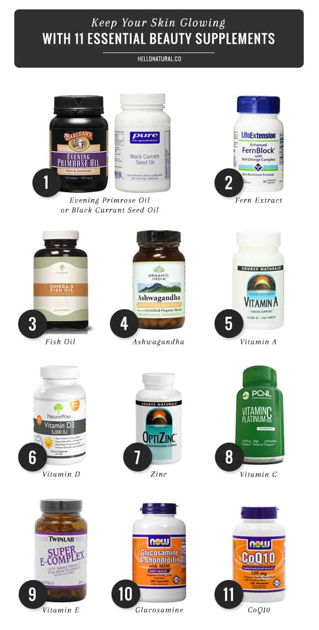11 Essential Beauty Supplements