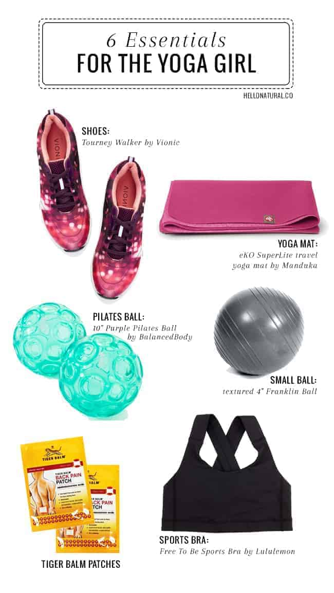 Celeb Trainer's 6 Essentials For The Yoga Girl | Hello Glow