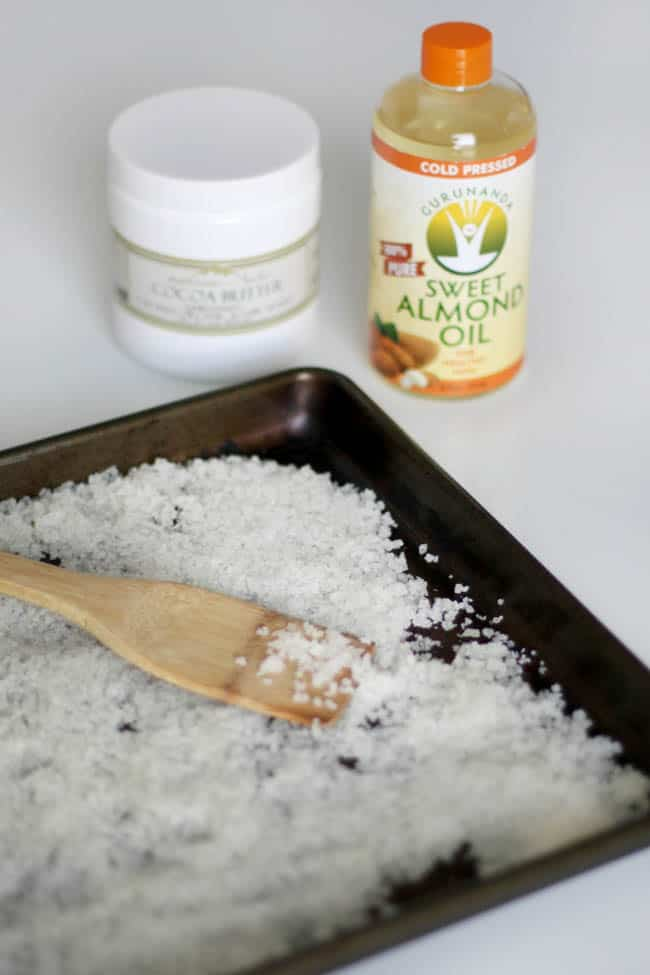 Moisturizing DIY Bath Salts 3 Ways