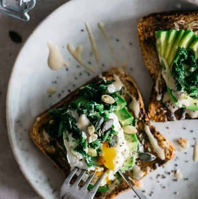 Better Breakfast Series: Superfood Avocado Toast with Kale Tapenade