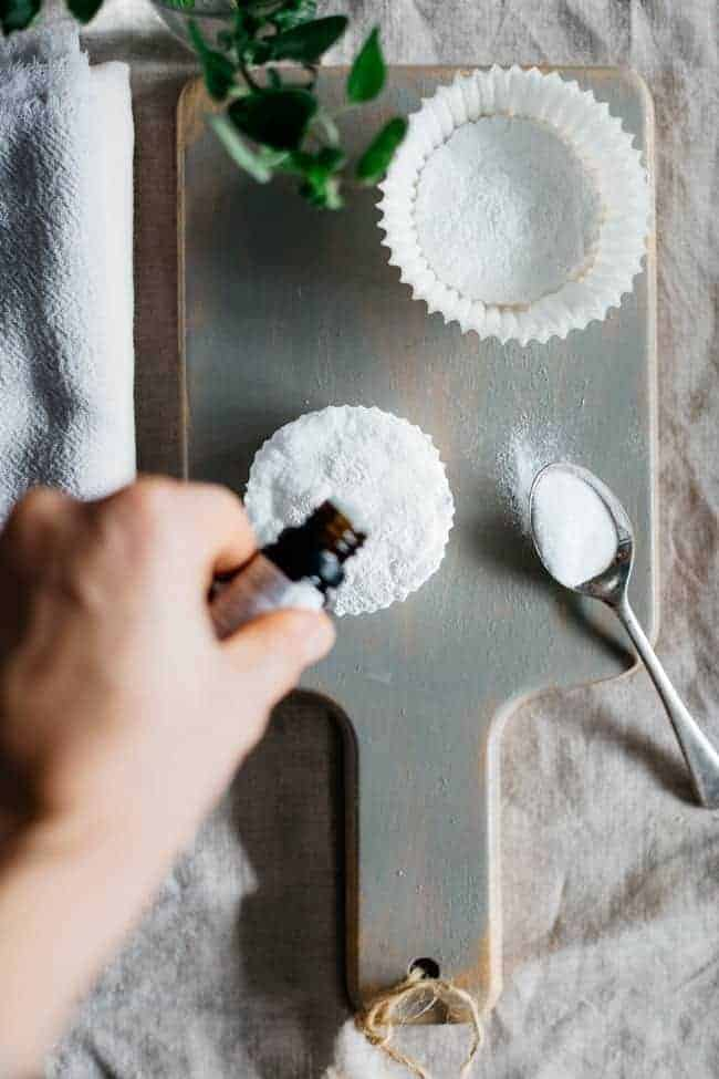 DIY Shower Vapor Disks