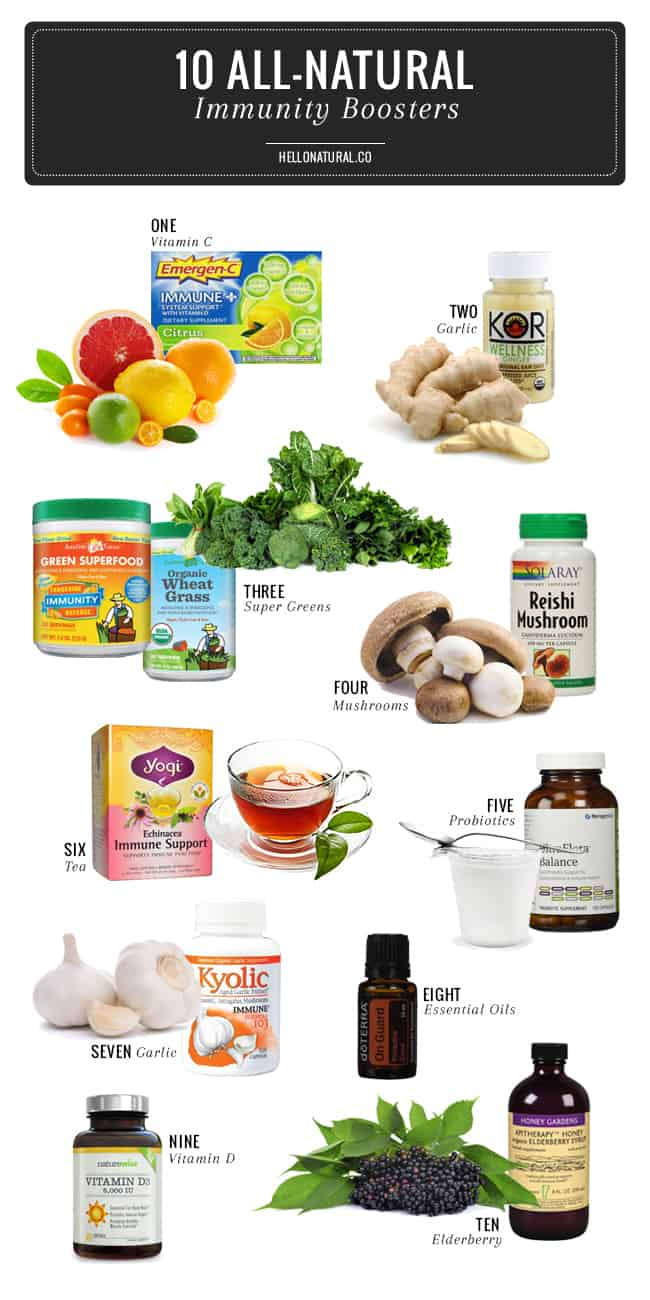 Fight Off The Crud With 10 All Natural Immunity Boosters