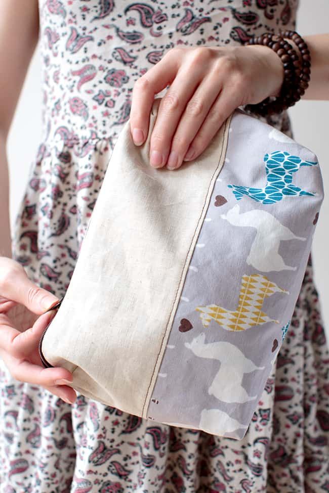 DIY zipper pouch| 11 DIY Bags for All Your Needs
