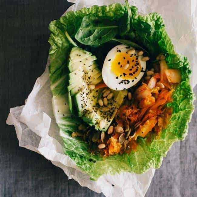 Kimchi Lunch Wrap