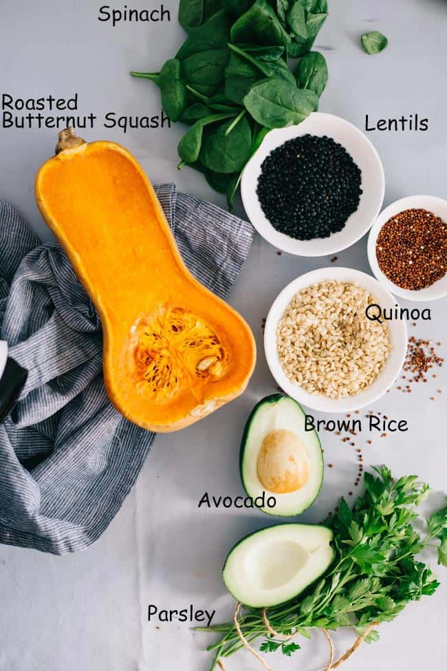 Ingredients for a Perfect Meal Bowl