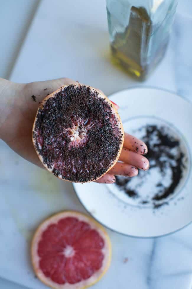 Grapefruit Coffee Scrub
