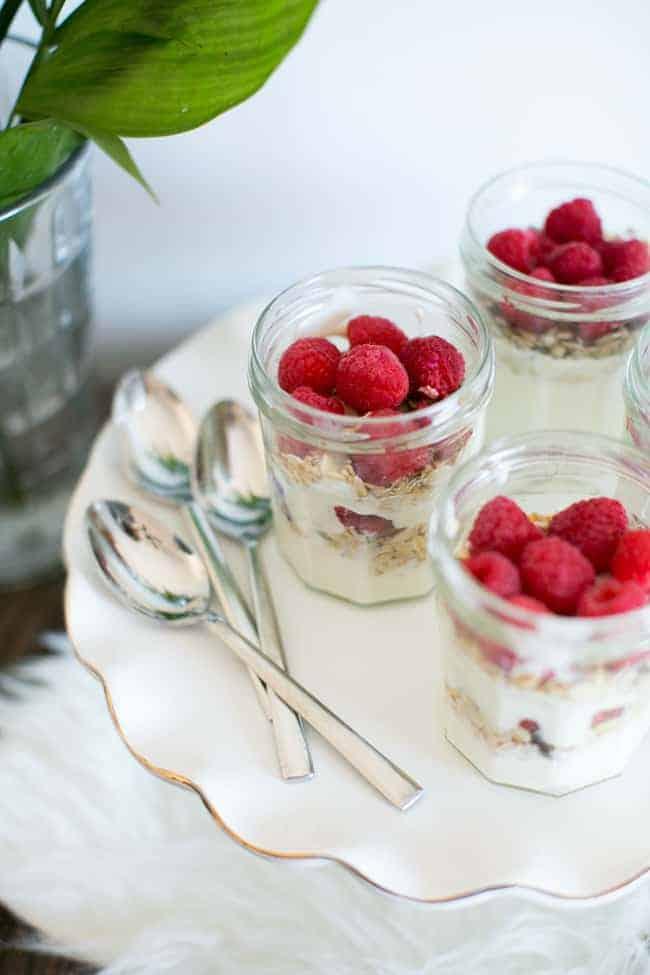 Beauty Yogurt Parfait | Make Ahead Brunch