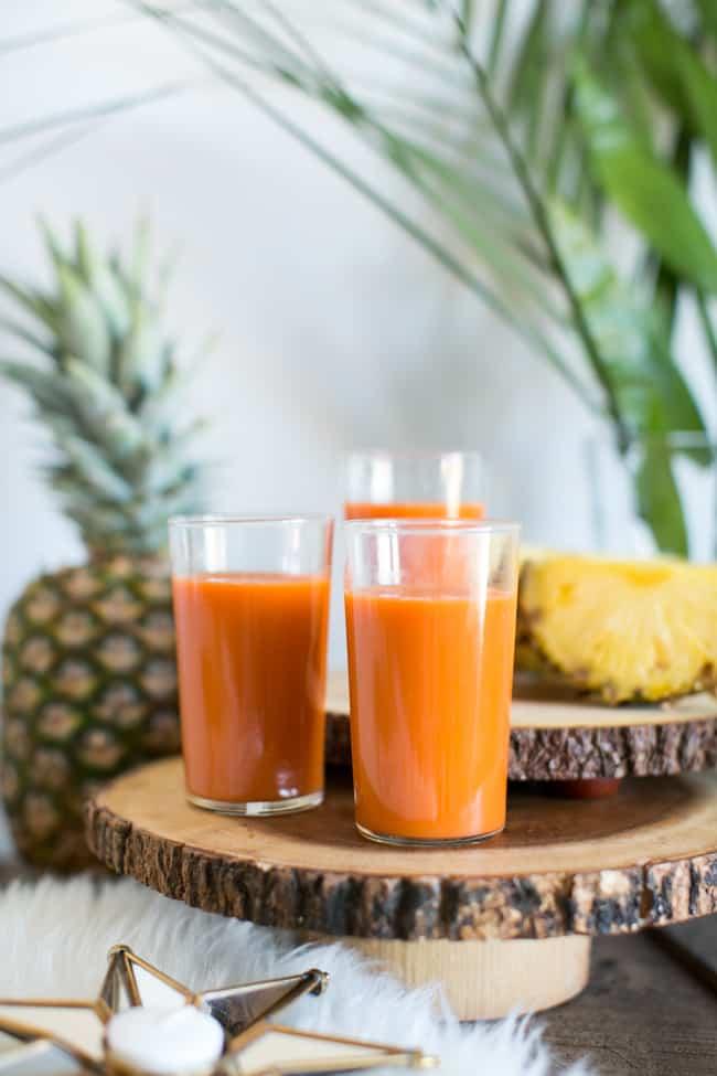 Vitamin A Juice | Make Ahead Beauty Brunch