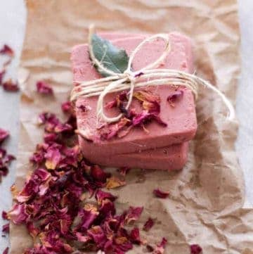 Rosewater & pink clay soap | How to use rosewater | Hello Glow