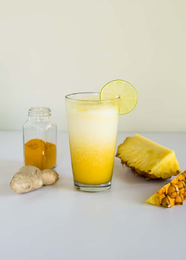 Turmeric Smoothie by Hello Glow
