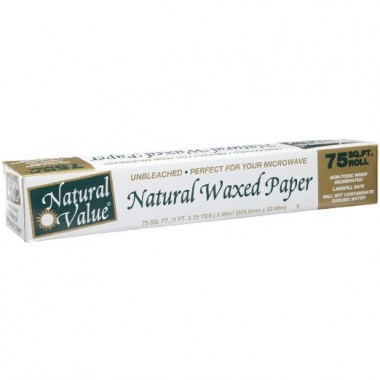 Ecofriendly Natural Value Waxed Paper