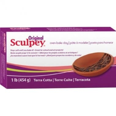 Scupley Terra Cotta Oven Bake Clay