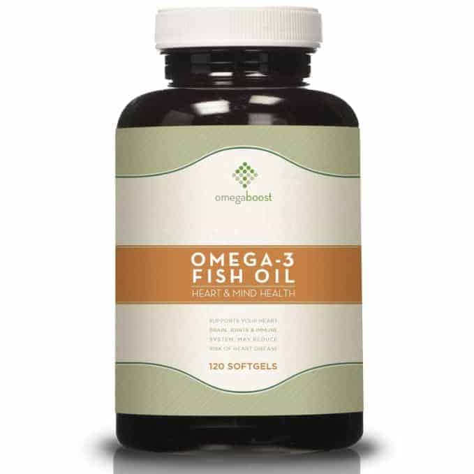 OmegaBoost Fish Oil