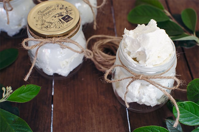 Whipped Body Butter from A Side of Sweet | 11 Whipped Body Butter Recipes