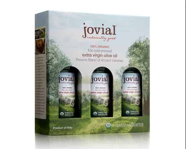 Jovial Foods Olive Oil Giveaway | Hello Glow