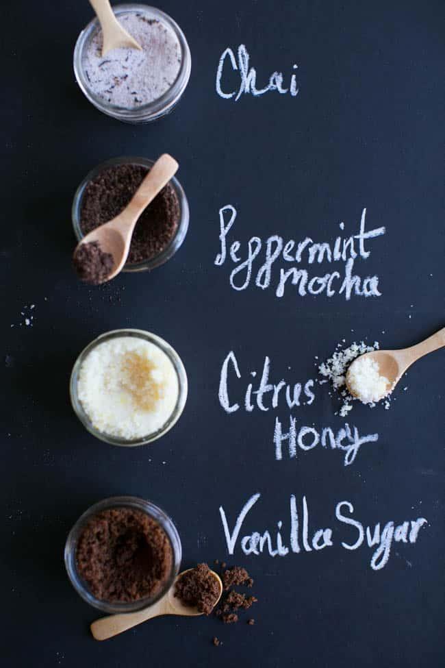 4 Homemade Holiday Scrub Recipes