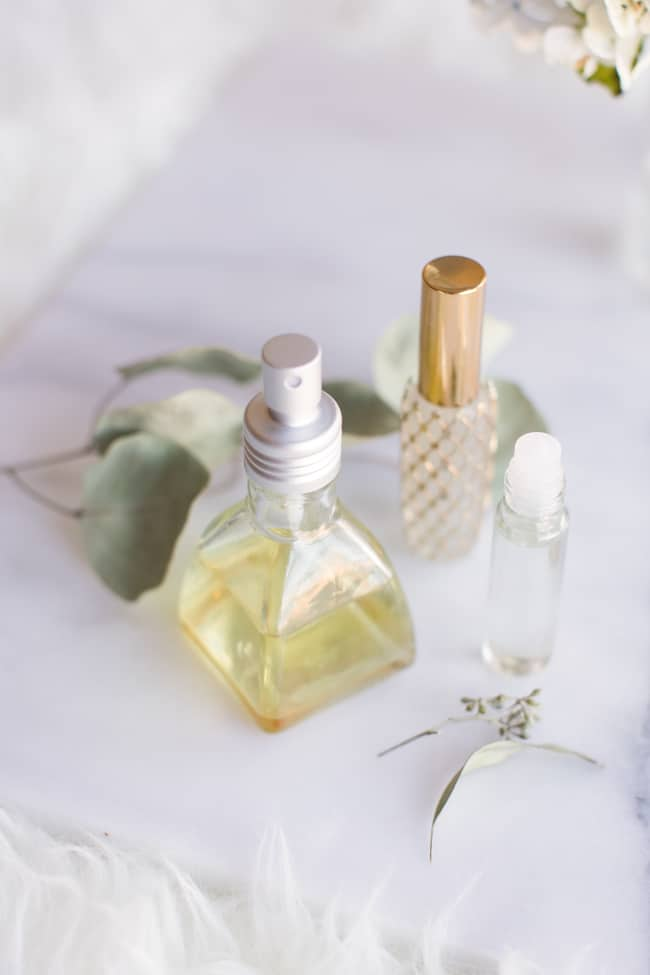 Body Oil Spray | 4 Ways to Make Perfume