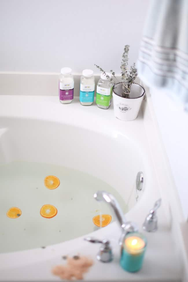 Take a Bath | 10 Healthy Bedtime Rituals for an Awesome Tomorrow