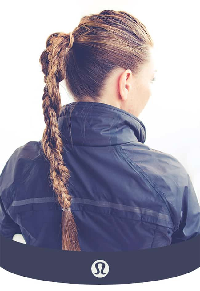 Running braid by Lululemon | 10 Stylish Workout Hairstyles