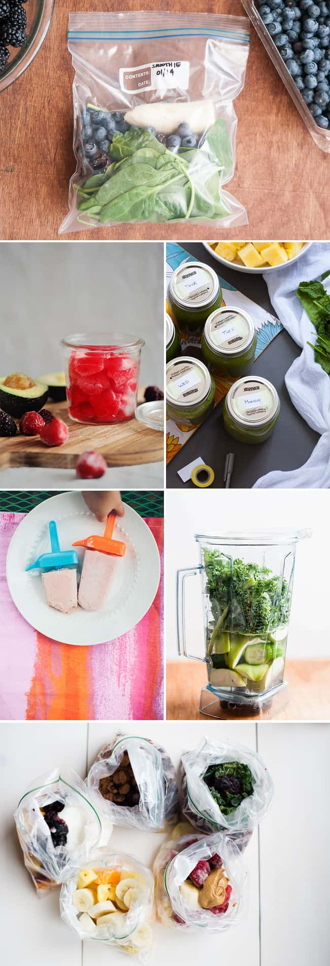 5 Ways to Make a Make Ahead Smoothie