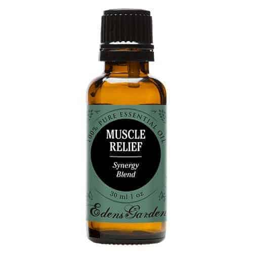 Eden's Garden Muscle Relief Synergy Blend Essential Oil