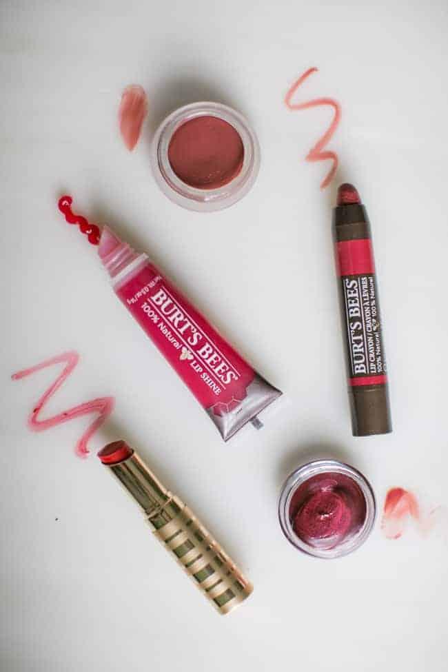 Favorite Natural Red Lipsticks