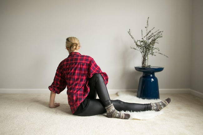 Seated Torso Twist   7 Bedtime Stretches