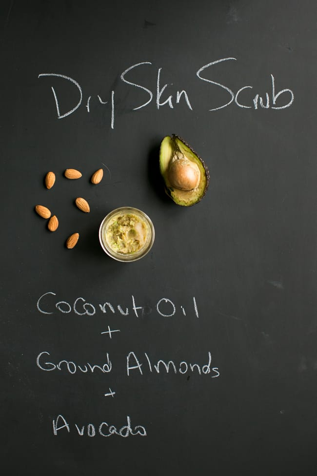 Dry Skin Face Scrub