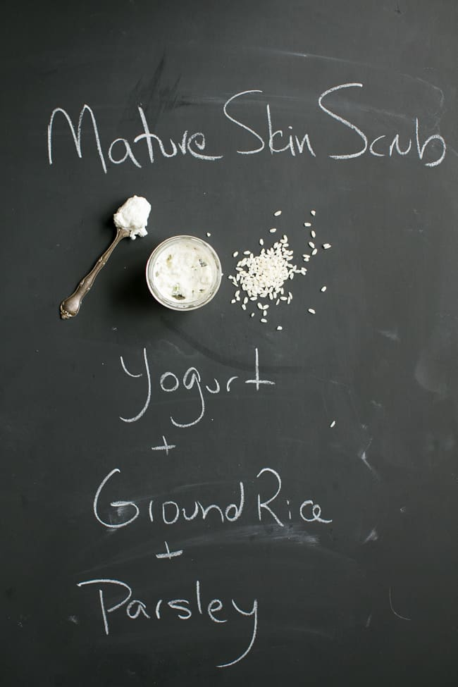 Mature Skin Face Scrub