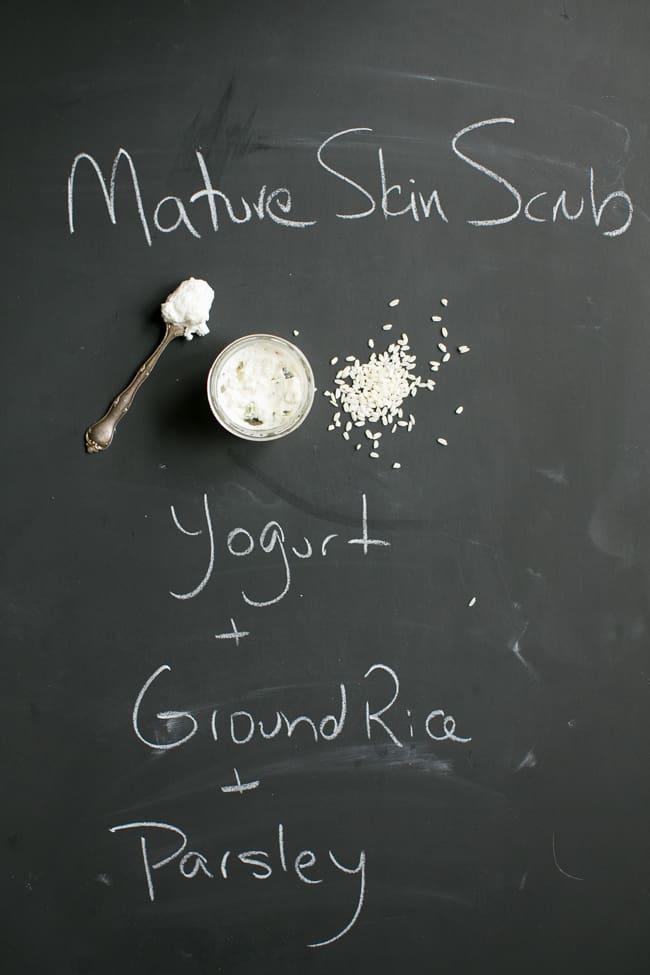 Mature Skin Face Scrub