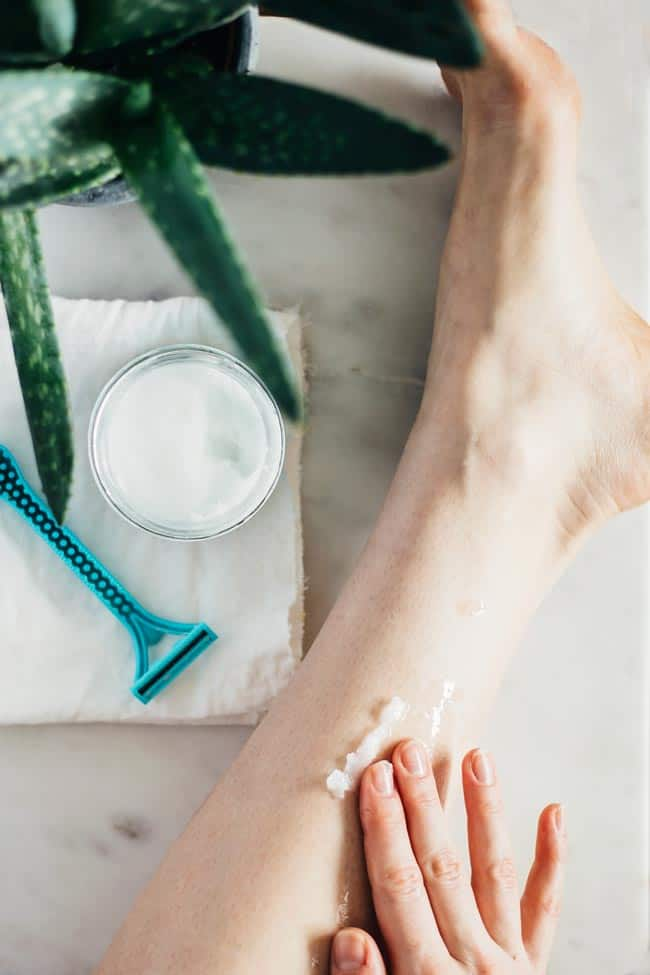 Shaving Cream | 9 Beauty Uses for Coconut Oil