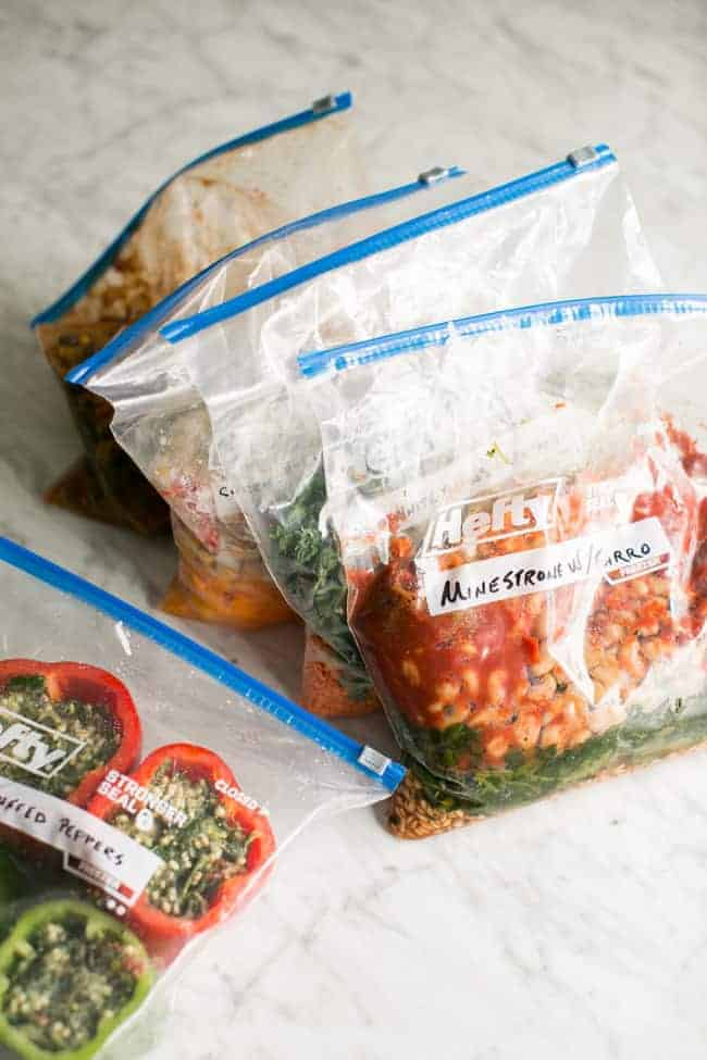 Vegetarian Freezer Bag Meals for the Slow Cooker