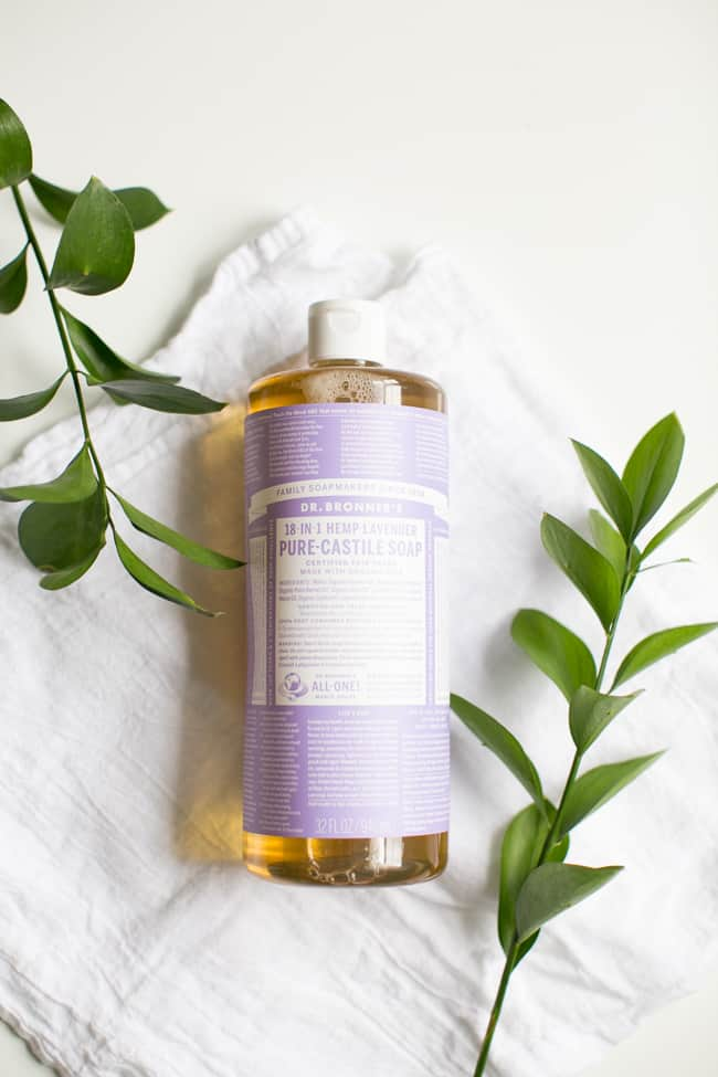 Castile Soap | 10 Must-Have Ingredients for Homemade Cleaners