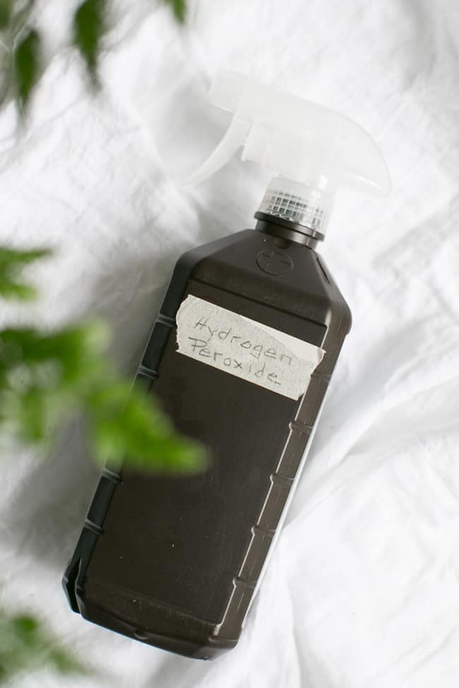 Hydrogen Peroxide | 10 Must-Have Ingredients for Homemade Cleaners