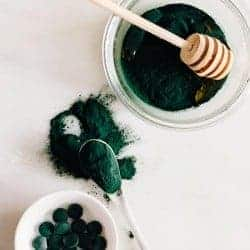 Inside + Out: Spirulina Face Mask + Chia Breakfast Pudding