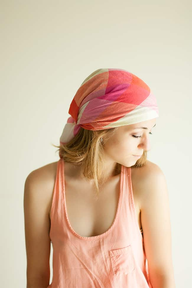 Hair Wrap to Protect from the Sun   9 Hair Treatments for Damaged Hair
