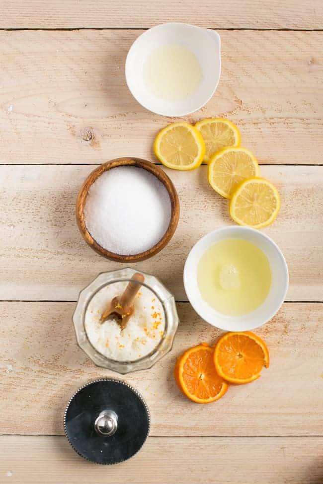 Exfoliating Naturally Antibacterial Sea Salt Hand