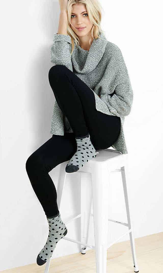 9 Black Leggings You'll Love for Spring