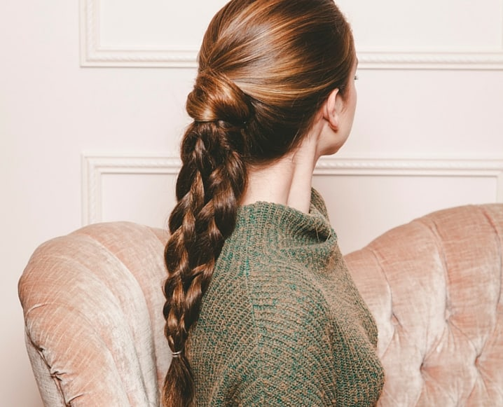 Double Braided Ponytail Tutorial from The Chalkboard Mag