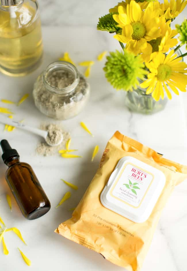 3-Part Spring Skincare + Homemade Face Serum