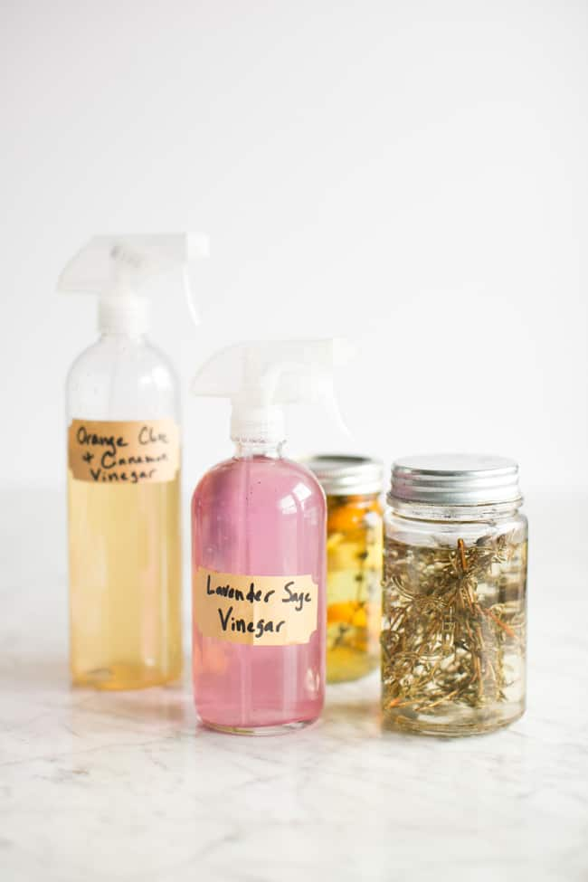 DIY All-Purpose Spray with Infused Vinegar
