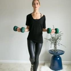5 Moves for Toned Arms Using Weights